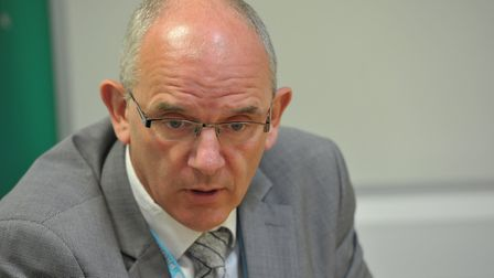 DCI Barry Byford at Suffolk Police HQ Picture: SARAH LUCY BROWN