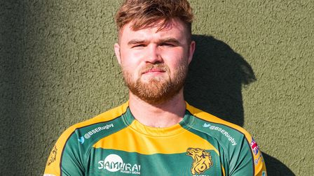 New Bury St Edmunds Rugby Club signing Connor Adams. Picture: BSE RUGBY