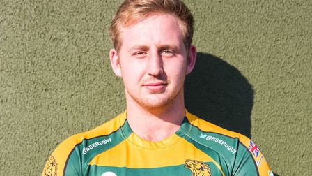 New Bury St Edmunds Rugby Club signing Callum Torpey. Picture: BSE RUGBY