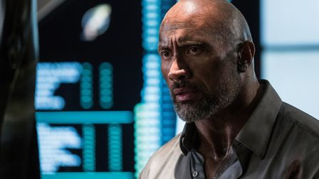 Dwayne Johnson in Skyscraper Picture: PA/UNIVERSAL PICTURES/KIMBERLEY FRENCH