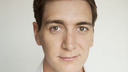 Harry Potter star Oliver Phelps, who has joined the cast of The Case of the Frightened Lady Picture: