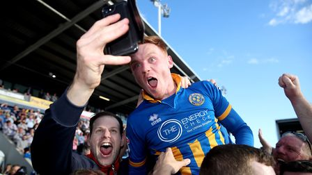 Ipswich Town have had a bid rejected for Shrewsbury's Jon Nolan. Picture: PA