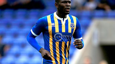 Town boss Paul Hurst is ready to turn to his former Shrewsbury Town favourite Toto Nsiala. Photo: PA