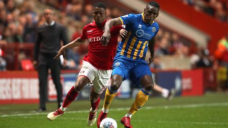 Ezri Konsa (left) has joined Brentford from Charlton. Picture: PA