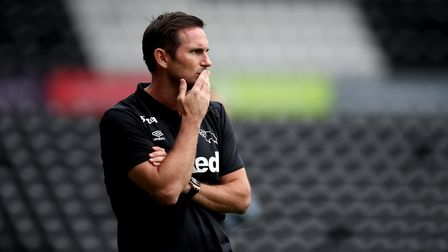 Frank Lampard is now in charge of Derby County. Picture: PA
