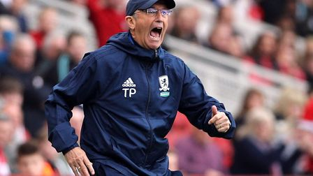 Middlesbrough manager Tony Pulis Picture: PA