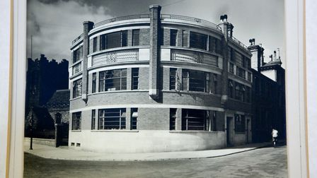 Scrutton and Goodchild offices in Ipswich in 1938