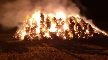 A reward for information has been offered following an arson incident in Rougham Picture: SUFFOLK F