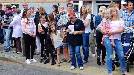 Crowds line the streets for last year's Sudbury Carnival Picture: RICHARD MARSHAM