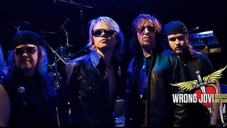 Bon Jovi tribute act Wrong Jovi are coming to the Quay Theatre in Sudbury Picture: NINA RAJANI PHOT