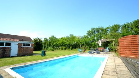 Take a look at the Suffolk properties currently for sale with swimming pools Picture: FENN WRIGHT