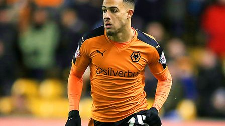 Ipswich Town are looking at a loan move for Wolves winger Jordan Graham. Photo: PA