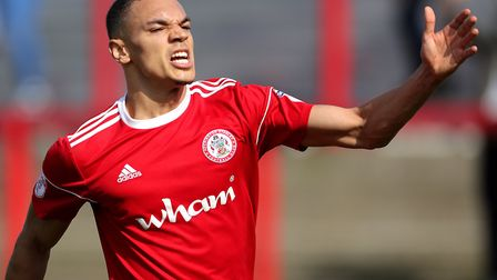 Ipswich Town have had a �1.75m bid for Kayden Jackson rejected. Photo: PA