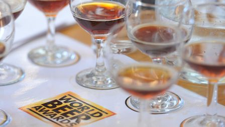 Judging of the World Beer Awards took place at community pub, the Duke of Marlborough in Somersham