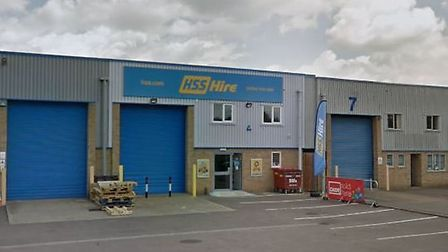 One of the burglaries was at HSS Hire in Bury St Edmunds Picture: GOOGLE