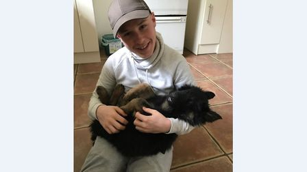 Luke Bunyan, 20, died after his motorcycle came off the road in Colchester Picture: ESSEX POLICE