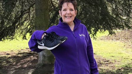 Jan Bloomfield, who took part in the Cotswold Challenge in aid of the Every Heart Matters appeal, is