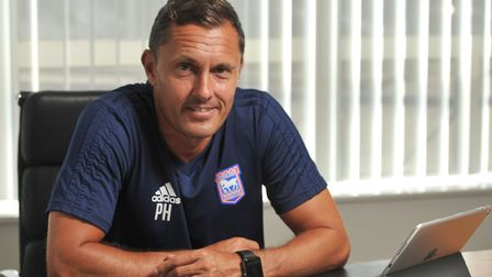 Paul Hurst is only the 16th permanent manager in Ipswich Town's 82-year professional history. Photo: