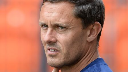 Paul Hurst has a win rate of 50% from more than 500 games in football management. Photo: Pagepix