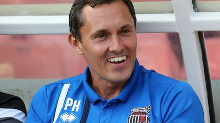 Paul Hurst spent almost six years in charge of Grimsby, eventually getting them promoted back into t