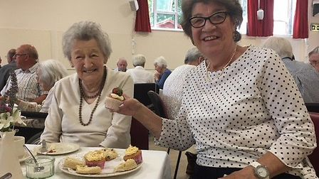 A strawberry tea was held to celebrate a good neighbour scheme in west Suffolk Picture: LEXIA AGENCY