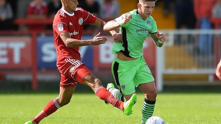 Ipswich Town are one of several clubs interested in Accrington Stanley striker Kayden Jackson (left)
