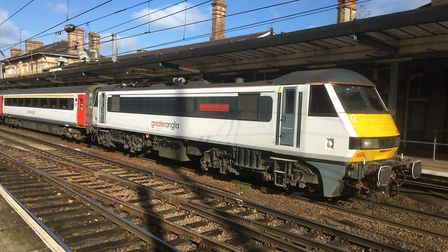 Intercity trains are among those affected Picture: PAUL GEATER