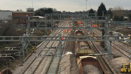 Hot weather is set to bring rail service cancellations Picture: NETWORK RAIL