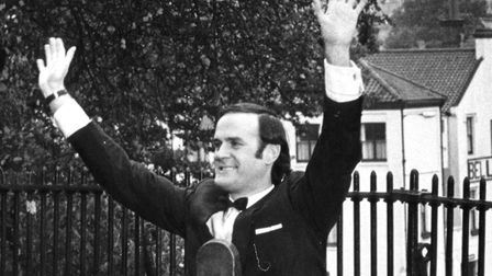John Cleese filming in Norwich for Monty Python in November 1971. It was something completely differ