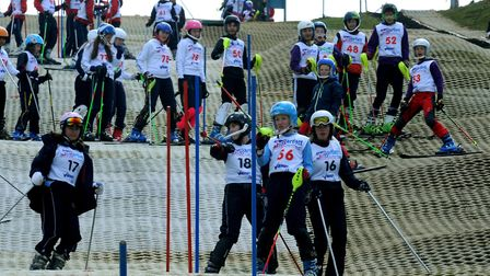Ski Sunday: The largest National Schools Snowsport Week event in England being held at the Suffolk S