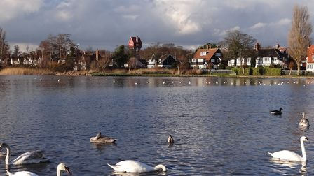 Thorpeness Meare. Picture: PAMELA BIDWELL