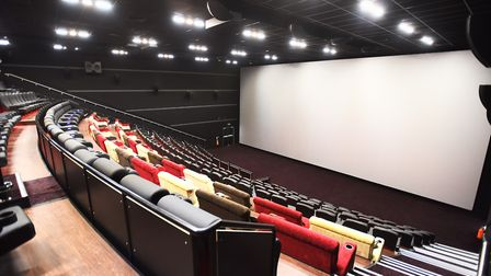 Empire cinema in Ipswich. Cinemas are one place to cool down in hot weather. Picture: GREGG BROWN