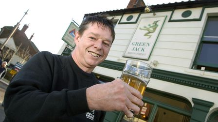Tim Dunford of Green Jack Brewery in Lowestoft Picture: ANGELA SHARPE