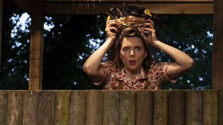 Fizz Waller in Red Rose Chain's Much Ado About Nothing Picture: BILL JACKSON