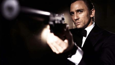 EDITORIAL USE ONLY. NO SALES. Undated handout photo issued by EON Productions of Daniel Craig as Ja