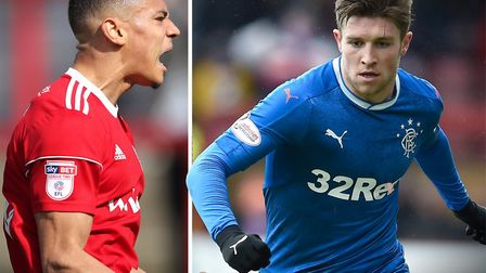 Kayden Jackson and Josh Windass are both strikers to have interested Ipswich Town. Picture: PA