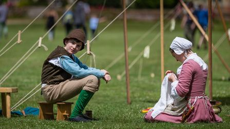 Thousands of visitors are set to experience life in the 16th-century Picture: GAVIN MILLS