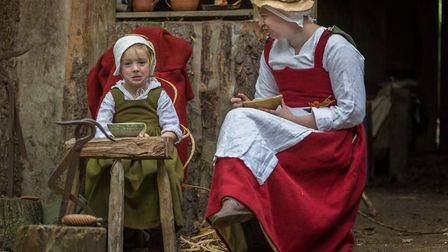 Visitors can experience life in the 16th-century Picture: GAVIN MILLS