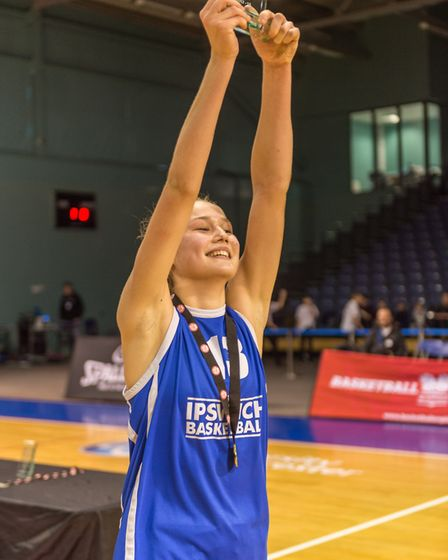 Esther Little celebrates another title. Picture: PAVEL KRICKA