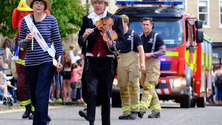 Action from last year's Sudbury Carnival Picture: RICHARD MARSHAM