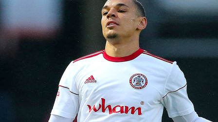 Kayden Jackson could complete his move to Ipswich today. Picture: PA