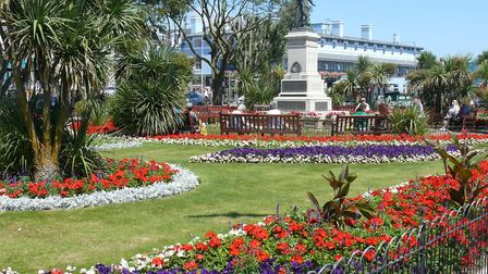 Clactons Memorial Gardens on the towns seafront. Picture: Tendring District Concil.