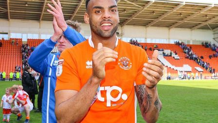 Blackpool defender Curtis Tilt has been a target of Ipswich Town. Picture: Blackpool Gazette