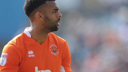 Blackpool defender Curtis Tilt is trying to force through a move to Ipswich Town. Picture: Blackpool