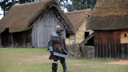 Enjoy the West Stow Anglo Saxon Village Lord of the Rings themed tour. Picture: PHIL MORELY