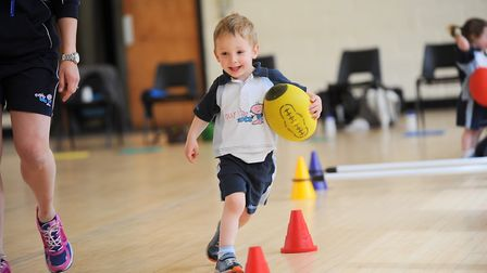 Rugbytots will take place this weekend Picture: GREGG BROWN