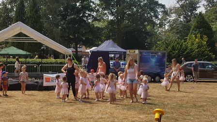 Party in the Park was one of Jacqui's favourite events in Sudbury this year Picture: AMI BIRRELL