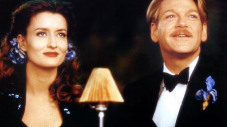 Natascha McElhone and Kenneth Branagh in his musical adaptation of Love's Labour's Lost Photo: Miram