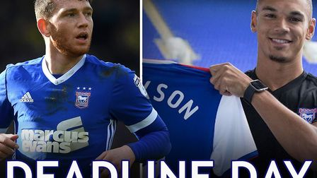 Transfer deadline day. Picture: PA/ITFC
