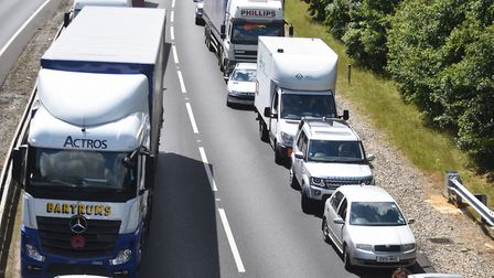Research has shown that the removal of central lines may help to reduce accidents on the roads Pictu